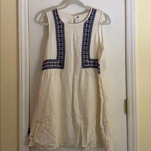 Gently used white dress